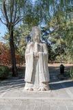 Αρχαίο γενικό άγαλμα στρατού, Πεκίνο, Κίνα Στοκ Εικόνες