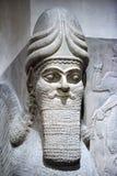 Αρχαίο γλυπτό Babylonia και Assyria από τη Μεσοποταμία στοκ φωτογραφία με δικαίωμα ελεύθερης χρήσης