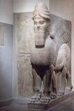 Αρχαίο γλυπτό Babylonia και Assyria από τη Μεσοποταμία στοκ εικόνες