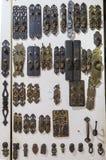 Αρχαίο δαχτυλίδι πορτών στο πολιτιστικό κατάστημα λειψάνων, chengdu, Κίνα Στοκ Φωτογραφίες