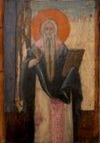 Αρχαίο εικονίδιο από το μοναστήρι του Panayia Kera.Island της Κρήτης Στοκ φωτογραφία με δικαίωμα ελεύθερης χρήσης