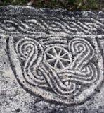 Αρχαίο ειδωλολατρικό σύμβολο Στοκ φωτογραφία με δικαίωμα ελεύθερης χρήσης