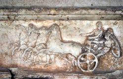 αρχαίο ελληνικό ανάγλυφ&omic Στοκ Εικόνα