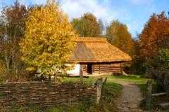 αρχαίο εξοχικό σπίτι Στοκ Εικόνα