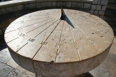 αρχαίο ηλιακό ρολόι tarragona της Ισπανίας Στοκ εικόνες με δικαίωμα ελεύθερης χρήσης