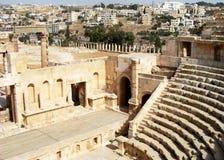 Αρχαίο θέατρο της Ρώμης στο Αμμάν Στοκ Φωτογραφίες