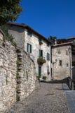 αρχαίο ιταλικό χωριό στοκ εικόνες