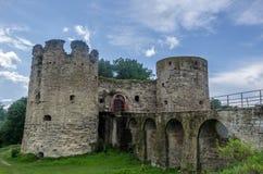 αρχαίο κάστρο μεσαιωνικό Στοκ φωτογραφία με δικαίωμα ελεύθερης χρήσης