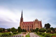 αρχαίο κάστρο παλαιό καθολική ιερή τριάδα εκκ Στοκ Εικόνα