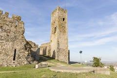 Αρχαίο κάστρο στην πόλη Arraiolos, περιοχή vora à ‰, Πορτογαλία Στοκ εικόνα με δικαίωμα ελεύθερης χρήσης