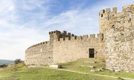 Αρχαίο κάστρο στην πόλη Arraiolos, περιοχή vora à ‰, Πορτογαλία Στοκ φωτογραφία με δικαίωμα ελεύθερης χρήσης
