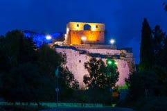 αρχαίο κάστρο στοκ εικόνα