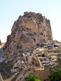 αρχαίο κάστρο cappadocia Στοκ εικόνα με δικαίωμα ελεύθερης χρήσης