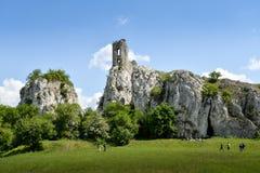 Αρχαίο κάστρο, Sdirotci Hradek Στοκ εικόνα με δικαίωμα ελεύθερης χρήσης