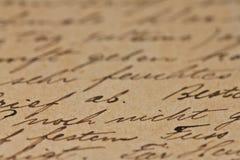 αρχαίο κείμενο ανασκόπησ&e Στοκ εικόνες με δικαίωμα ελεύθερης χρήσης