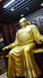 Αρχαίο κινεζικό άγαλμα αυτοκρατόρων στοκ εικόνες