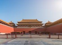 Αρχαίο κινεζικό παλάτι αρχιτεκτονικής, Πεκίνο, Κίνα Στοκ Εικόνες