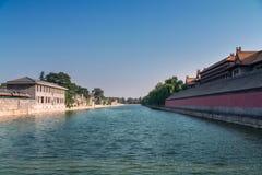 Αρχαίο κινεζικό παλάτι αρχιτεκτονικής, Πεκίνο, Κίνα Στοκ εικόνα με δικαίωμα ελεύθερης χρήσης