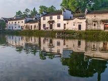 Αρχαίο κινεζικό χωριό στη Νότια Κίνα, Zhugecun Στοκ εικόνες με δικαίωμα ελεύθερης χρήσης