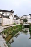 αρχαίο κινεζικό χωριό Στοκ φωτογραφία με δικαίωμα ελεύθερης χρήσης