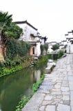 αρχαίο κινεζικό χωριό Στοκ Φωτογραφίες