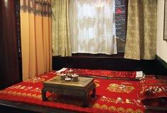 αρχαίο κινεζικό ύφος κρε&be Στοκ φωτογραφία με δικαίωμα ελεύθερης χρήσης