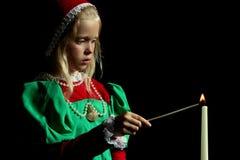 αρχαίο κορίτσι Στοκ Εικόνα