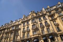 Αρχαίο κτήριο πετρών στο Παρίσι Στοκ φωτογραφίες με δικαίωμα ελεύθερης χρήσης