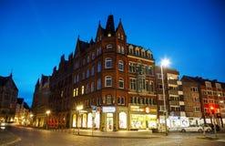Αρχαίο κτήριο σε Hanns Lilje Platz στο Αννόβερο Στοκ φωτογραφία με δικαίωμα ελεύθερης χρήσης