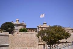 Αρχαίο κτήριο στη Μάλτα Στοκ Φωτογραφία