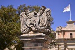 Αρχαίο κτήριο στη Μάλτα Στοκ Εικόνες