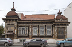 Αρχαίο κτήριο στο yekaterinburg, Ρωσική Ομοσπονδία Στοκ Εικόνα