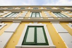 αρχαίο κτήριο της Μπανγκόκ  Στοκ Φωτογραφίες