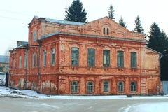 Αρχαίο κτήριο τούβλου στη Ρωσία Στοκ Φωτογραφία