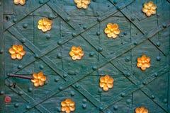 αρχαίο μέταλλο πορτών Στοκ Εικόνες