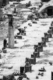 αρχαίο μνημείο Ρωμαίος φόρουμ στηλών στοκ φωτογραφία με δικαίωμα ελεύθερης χρήσης