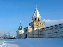 αρχαίο μοναστήρι Ρωσία Στοκ Εικόνες