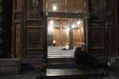 αρχαίο μουσουλμανικό τέμ Στοκ εικόνα με δικαίωμα ελεύθερης χρήσης