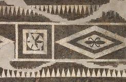 αρχαίο μωσαϊκό Ρωμαίος Στοκ Εικόνες