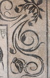αρχαίο μωσαϊκό Ρωμαίος Στοκ φωτογραφία με δικαίωμα ελεύθερης χρήσης