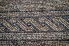 Αρχαίο μωσαϊκό στην εκκλησία του πολλαπλασιασμού, Tabha, Israe Στοκ εικόνες με δικαίωμα ελεύθερης χρήσης