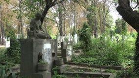 Αρχαίο νεκροταφείο στη Βάρνα bulblet 4K απόθεμα βίντεο
