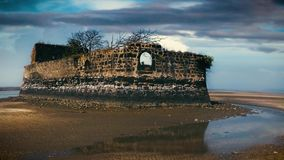 Αρχαίο νησί οχυρών απόθεμα βίντεο