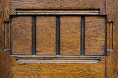 Αρχαίο ξύλινο υπόβαθρο πορτών Στοκ φωτογραφία με δικαίωμα ελεύθερης χρήσης