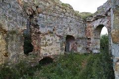 Αρχαίο ουκρανικό κάστρο Στοκ εικόνες με δικαίωμα ελεύθερης χρήσης