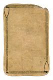 Αρχαίο παίζοντας υπόβαθρο εγγράφου καρτών grunge χρησιμοποιημένο με τις γραμμές Στοκ εικόνες με δικαίωμα ελεύθερης χρήσης