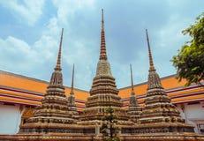 Αρχαίο παγόδα ή Chedi σε Wat Pho, Μπανγκόκ, Ταϊλάνδη Στοκ Εικόνες