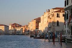 Αρχαίο παλάτι στο μεγάλο κανάλι στη Βενετία Στοκ φωτογραφία με δικαίωμα ελεύθερης χρήσης