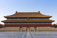 αρχαίο παλάτι του Πεκίνο&upsi Στοκ Εικόνα