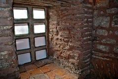 αρχαίο παράθυρο κάστρων Στοκ φωτογραφίες με δικαίωμα ελεύθερης χρήσης